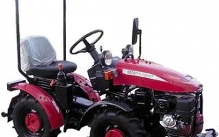 Мини-трактор беларус 112h-01