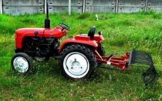 Приспособление для покоса травы к мотоблоку