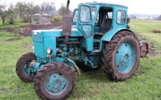Модели тракторов лтз