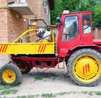 Трактор т-16 технические характеристики расход топлива