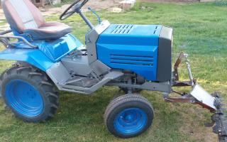 Мини трактора хтз