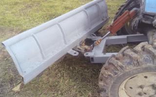 Как сделать снегоротор на трактор своими руками