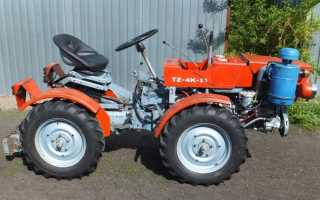 Мини трактор 4wg