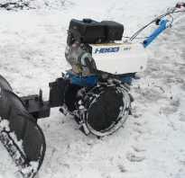 Как сделать снеговую лопату на мотоблок