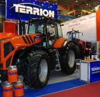 Тракторы terrion модельный ряд