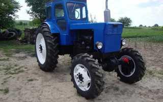 Вес трактора мтз 40