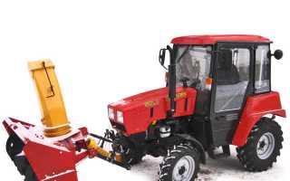 Снегоуборщик для трактора мтз 82