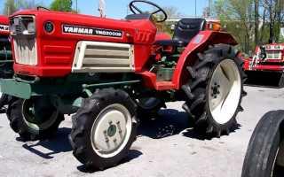 Технические характеристики трактора янмар 585