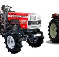 Мини трактор митсубиси