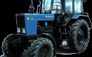 Обзор трактора мтз 82