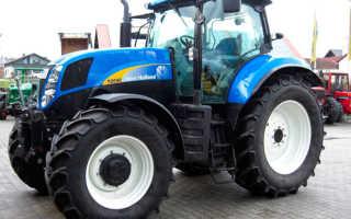 Нью холланд трактор т 6090 технические характеристики