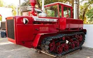 Обзор трактора дт 175 волгарь