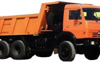 Камаз-65111 технические характеристики