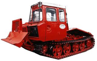 Трелёвочный трактор тдт 55
