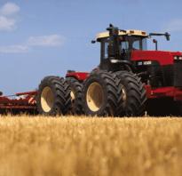 Трактор колесный buhler 8020