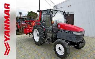 Трактора yanmar модельный ряд