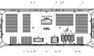 Камаз электросхема с панелью икар