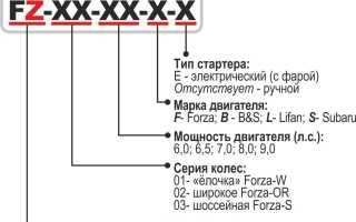 Обзор дизельного мотоблока форза
