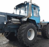 Новые трактора хтз характеристики