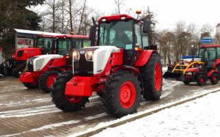 Какие трактора выпускают в белоруссии