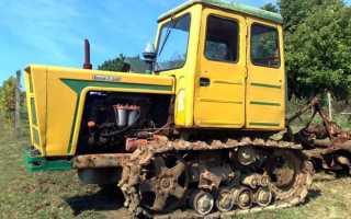 Трактор т-54 технические характеристики